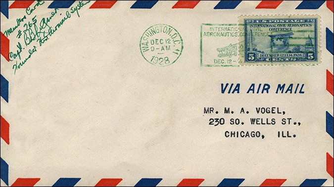The Postal History of ICAO